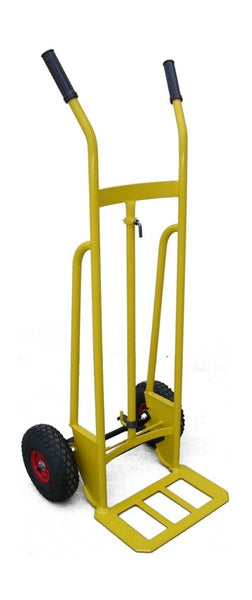 All Rounder Hand Truck 260mm Pneumatic Wheels - Quality Jack