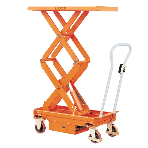 Electric Double Scissor Lift Table Lifter 500kg capacity | QualityJack