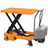 Electric Single Scissor Lift Table Lifter 300kg capacity | QualityJack