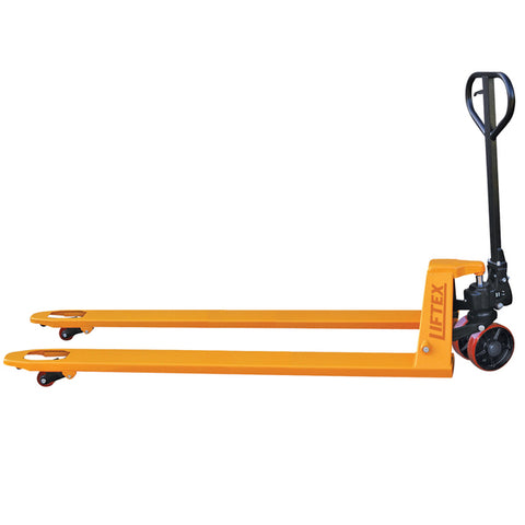 2T Extra Long  Hand Pallet Jack Truck 800mm long Fork Width 520mm | QualityJack