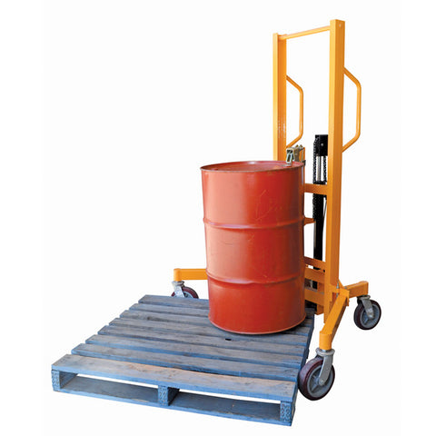 Steel and Plastic Drum Lifter Palletiser Lifting Capacity 400kg | QualityJack