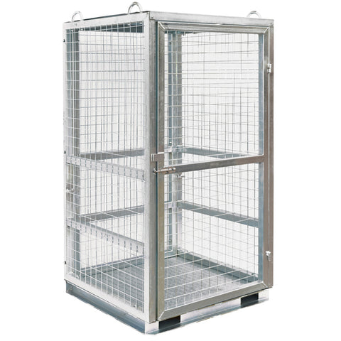 Heavy Duty Lockable Gas Storage Cage | QualityJack