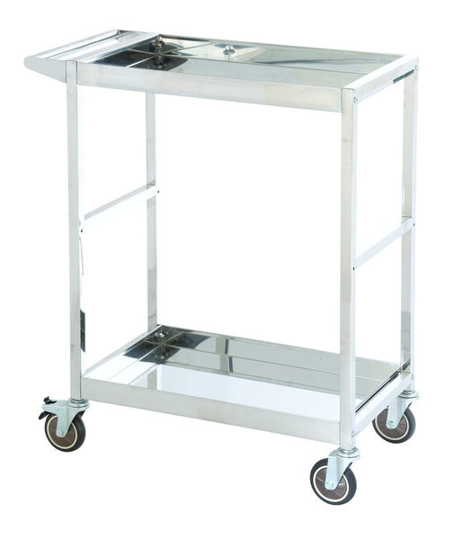 Stainless Steel Two Tier Industrial Platform Trolley 200Kg | SkyJacks