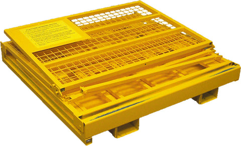 Collapsible Work Platform Forklift Safety Cage | QualityJack