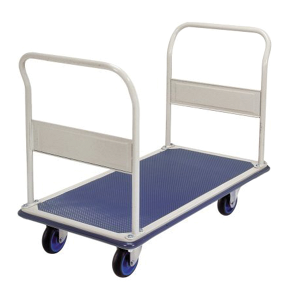 Double Handle Industrial Platform Trolley 300Kg - Quality Jack