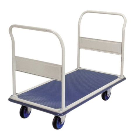 Double Handle Industrial Platform Trolley 300Kg | QualityJack