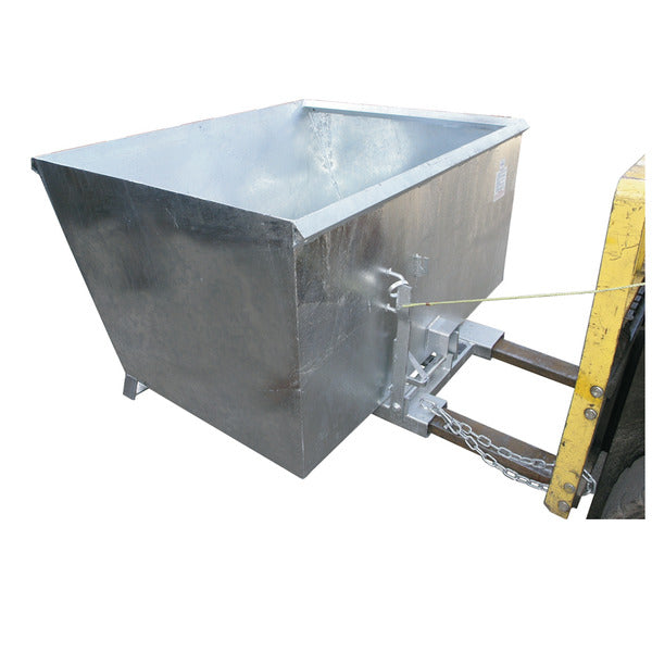 1500kg Capacity Tipping Bins with release mechanism | QualityJack