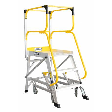 Bailey 3 Step Deluxe Order Picker 170Kg Height 0.83m | QualityJack