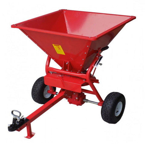 160kg Tow Behind ATV Fertiliser Seed Spreader | QualityJack