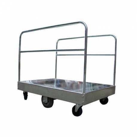 Galvanised Bulky Goods Industrial Platform Trolley 450Kg | QualityJack