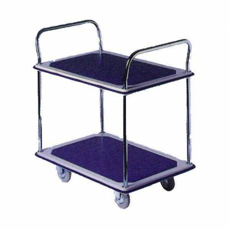 Signature Two Level Industrial Platform Trolley Storage Cart 370Kg | SkyJacks