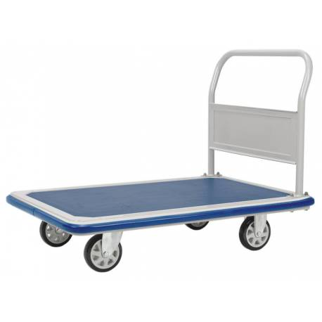 Signature Large Platform Industrial Trolley Storage Cart 500 Kg | QualityJack