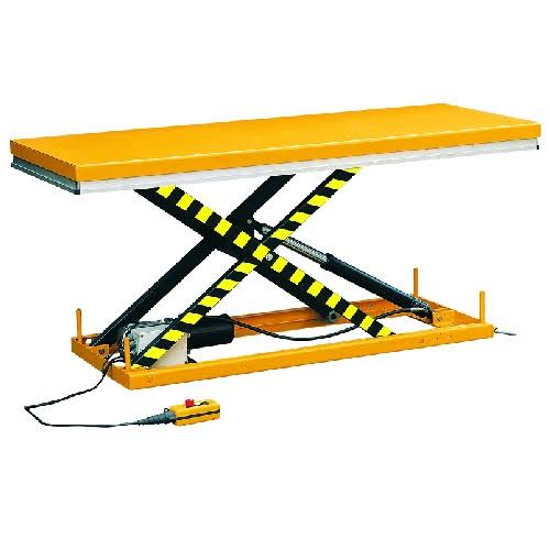 Large Electric Scissor Lift Table 2500Kg Capacity
