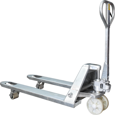 2.5T Galvanised Pallet Jack Truck 685mm wide | QualityJack