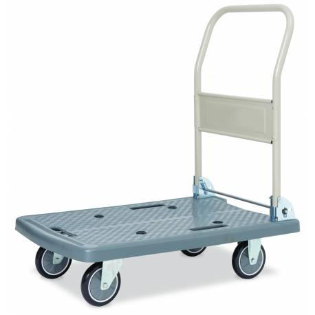 Signature Series Platform Trolley Folding Handle Capacity 250Kg | QualityJack