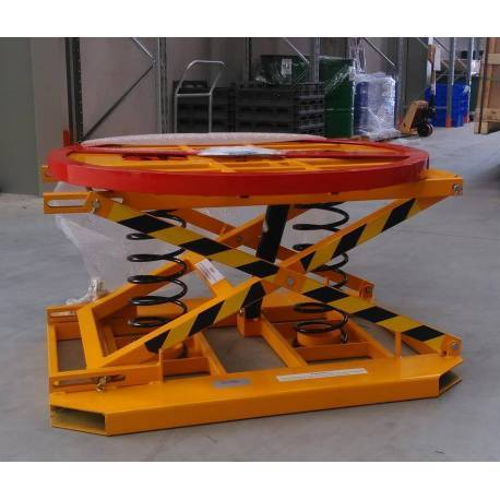 1T Spring Pallet Elevator and Rotator | QualityJack