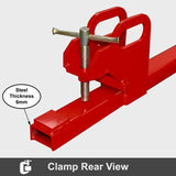 Heavy Duty 1800kg Front End Bucket Loader Clamp Fork Extensions | QualityJack