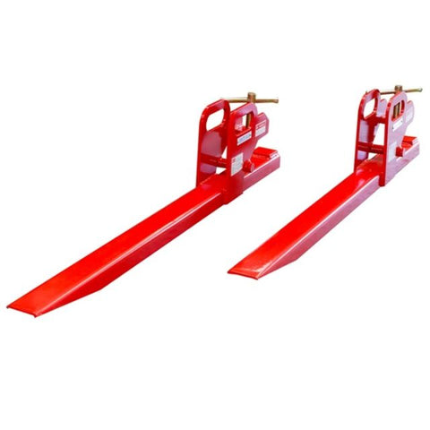 Heavy Duty 1350kg Front End Bucket Loader Clamp Fork Extensions | QualityJack