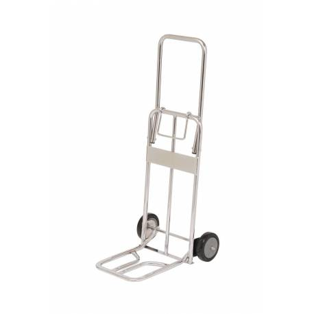 Foldable Chrome Plated Hand Truck | QualityJack