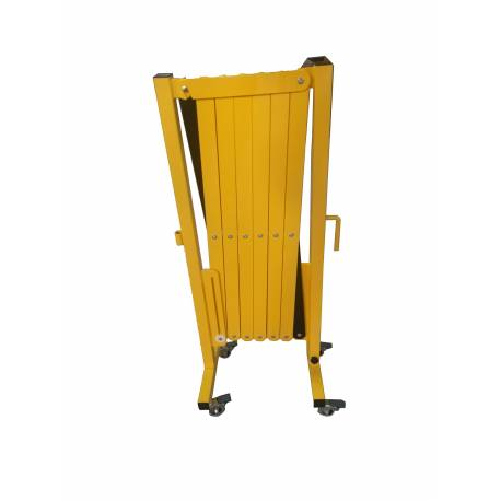 Portable Expanding Barrier Black And Yellow 3m | QualityJack
