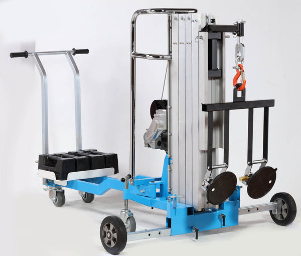 Heavy Duty Electric Material Lifter Trolley 250Kg | QualityJack