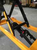 Rough Terrain Manual Scissor Lift Table Capacity 200kg | QualityJack