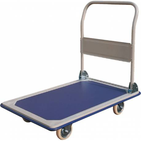 Foldable Platform Trolley with Folding Handle Capacity 250Kg 600*890mm | QualityJack