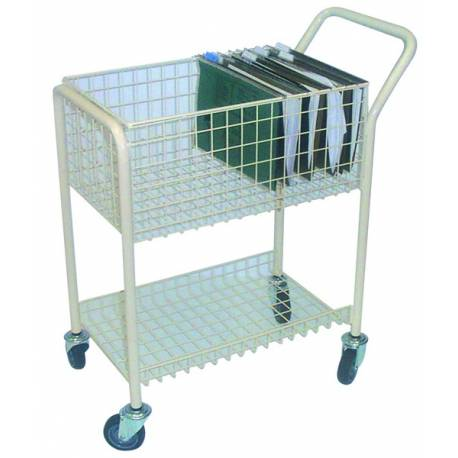 Office File Order Picking Trolley Capacity 220Kg | QualityJack