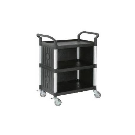 Triple Deck Service Cart Platform Trolley | QualityJack