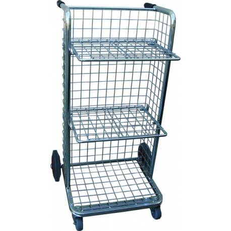 Office upright File Trolley 120Kg | QualityJack