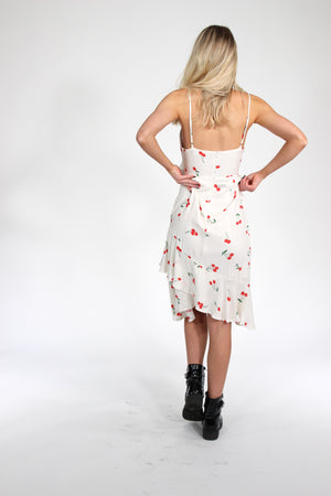 Cherry On Top Cutout Midi Dress