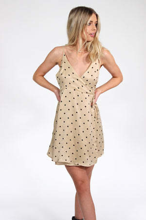 Greensboro Polka Dot Wrap Dress
