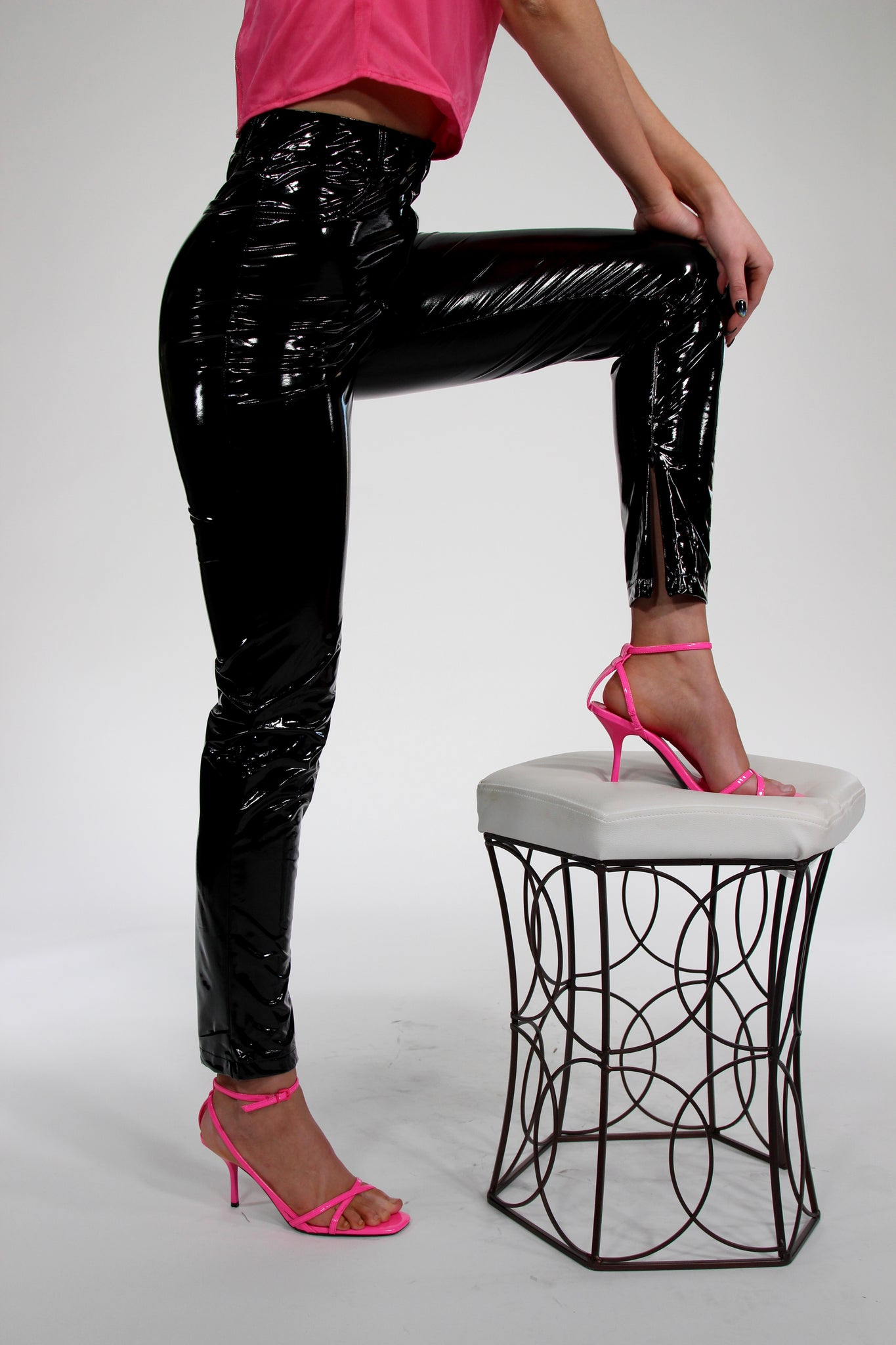 The Way We Roll Faux Leather Legging