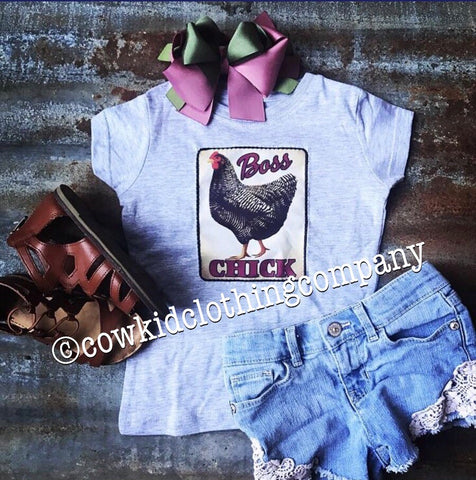 BOSS CHICK Fitted Girl's Shirt