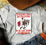 Buckin' Santa Long Sleeve Shirt