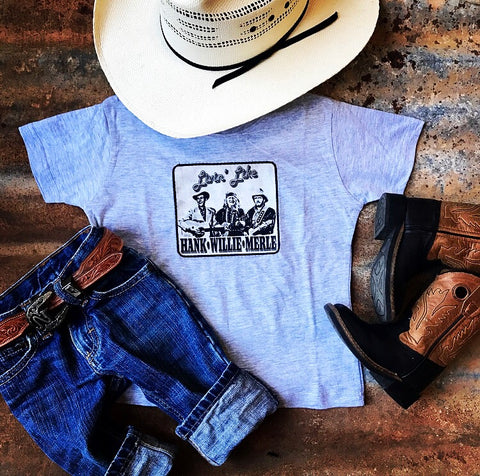 Hank, Willie, Merle T-Shirt