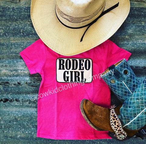 RODEO GIRL Pink Girl's Shirt