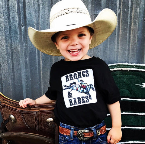 Broncs & Babes Saddle Bronc T-Shirt