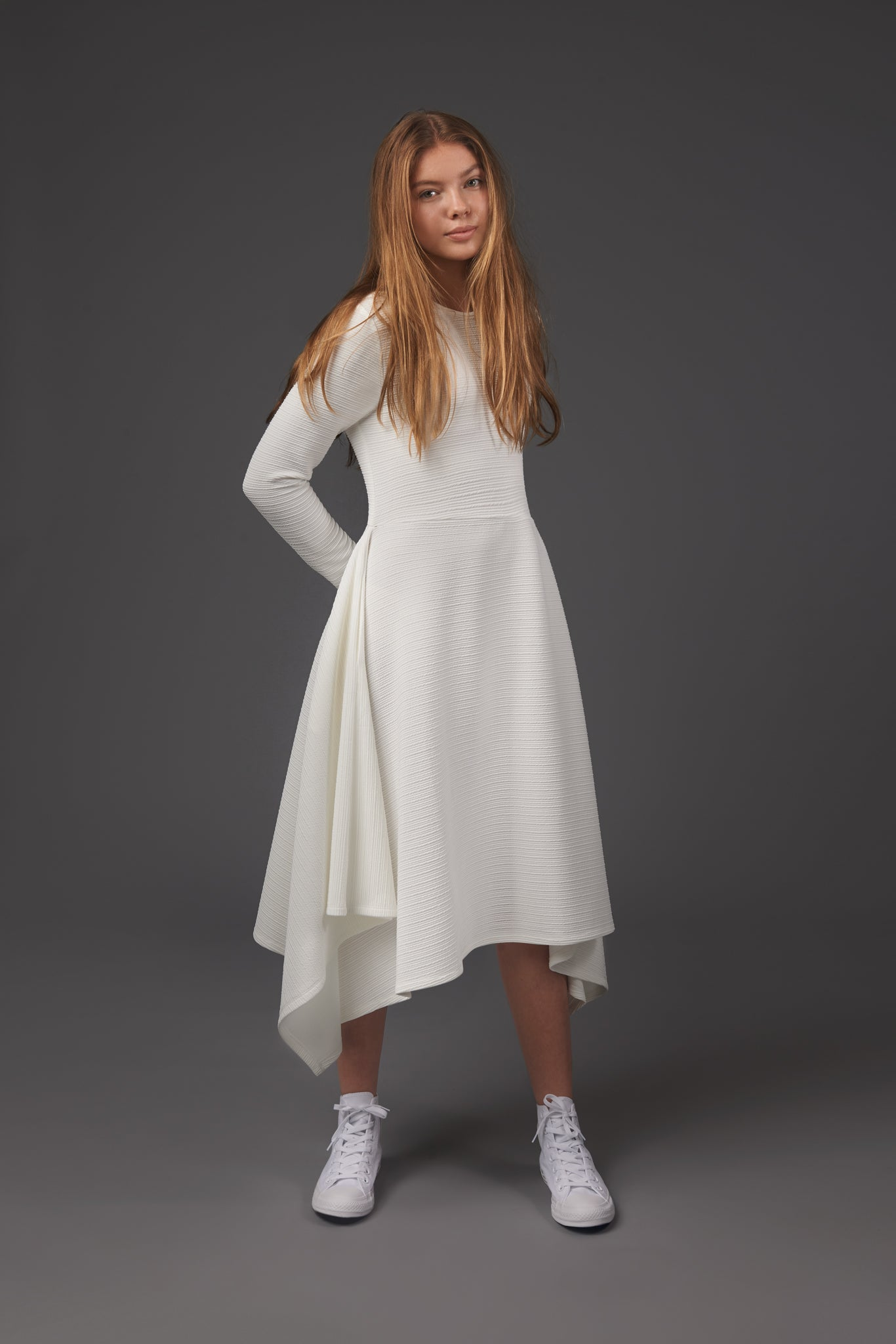 White Kerchief Dress