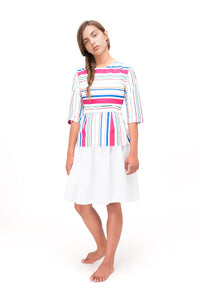 Multicolor Stripe Top