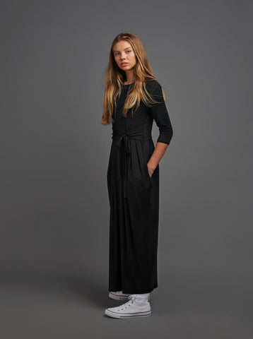Maxi Dress With Tie Waist