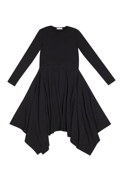 Black Kerchief Dress