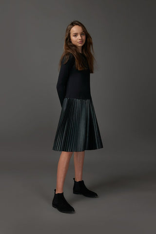 Micro Pleated Dress