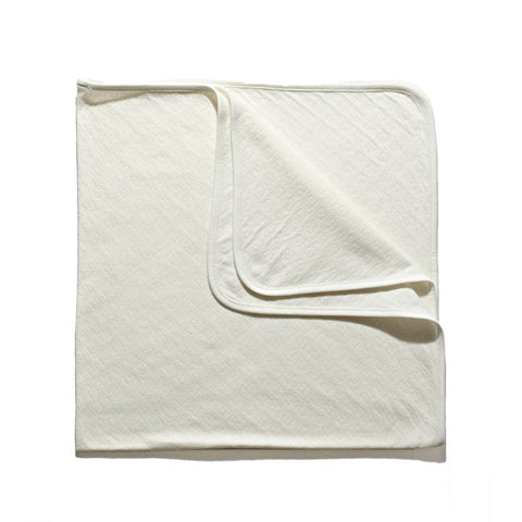 Organic Cotton Pointelle Blanket
