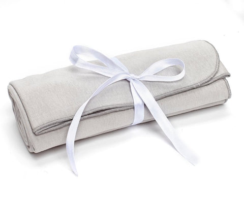Organic Cotton Grey Blanket