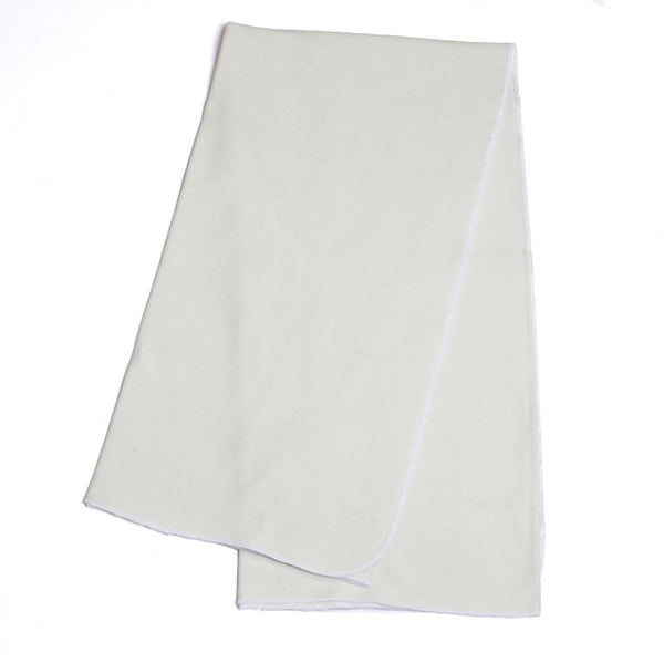 Organic Cotton White Blanket
