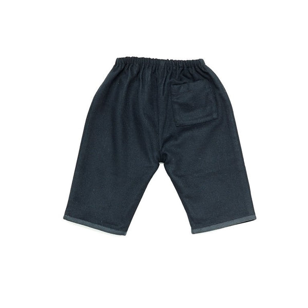 Baby Navy Lined Pant