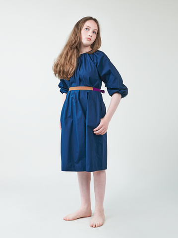 Navy Bubble Dress