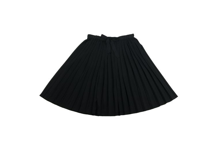 Pleated Skirt in Black