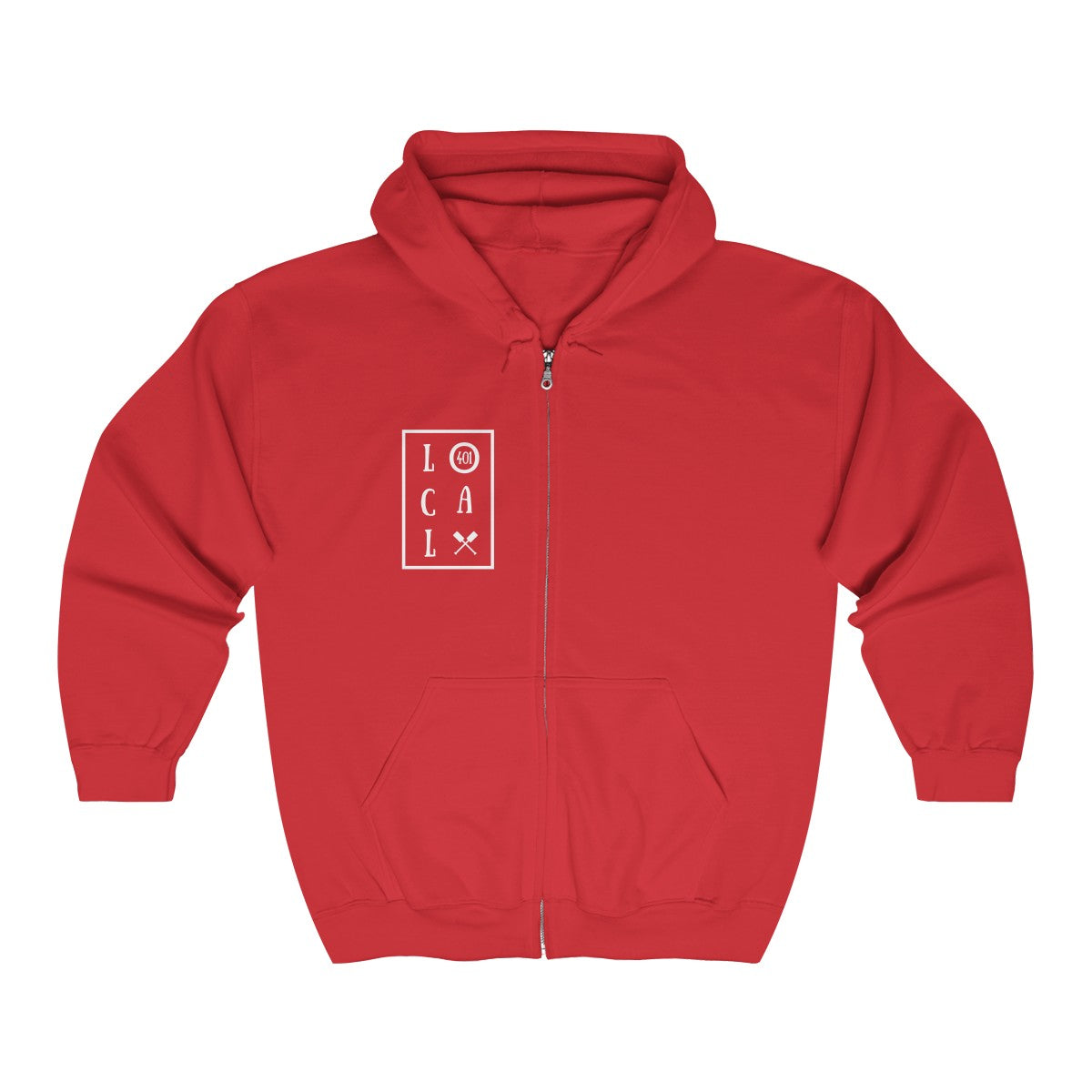 Unisex Heavy Blend™ Full Zip Hooded Sweatshirt